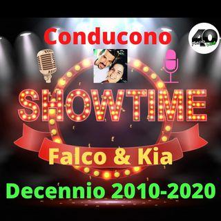 """Radio 40 """"Show Time"""" Decennio 2010-2020 Replica"""