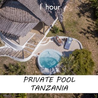 Pool in Tanzania   1 hour RIVER Sound Podcast   White Noise   ASMR sounds for deep Sleep   Relax   Meditation   Colicky