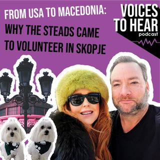From USA to Macedonia: why the Stead's came to volunteer in Skopje