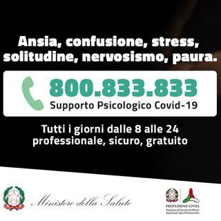 In 7 giorni 30.000  chiamate per lo psicologo