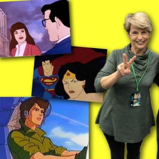 #259: Mary McDonald Lewis on voicing G. I. Joe's Lady Jaye, Lois Lane, and Wonder Woman