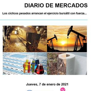 DIARIO DE MERCADOS Jueves 7 Enero