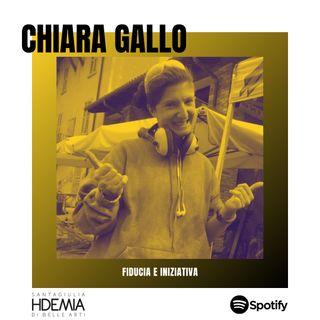 Chiara Gallo. Fiducia e iniziativa