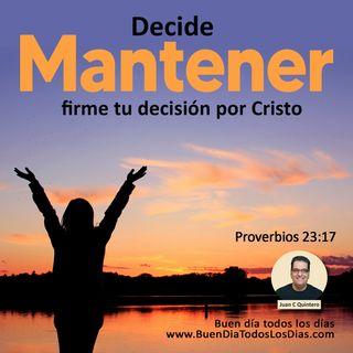 Decide agradar a Dios