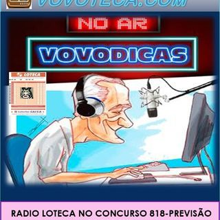 LOTECA 818 'A SONORA DO VOVOTECA'