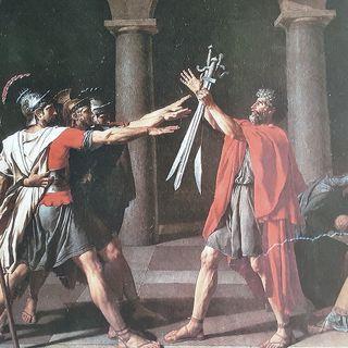 """""""Il giuramento degli Orazi"""" di Jacques Louis David"""