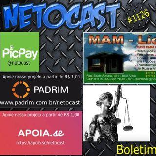 NETOCAST 1126 DE 11/03/2019 - BOLETIM DE DIREITO
