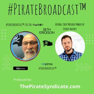 Catch Seth Erickson on the #PirateBroadcast™