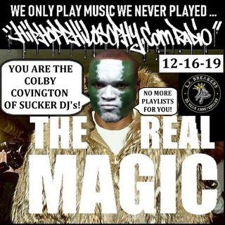 HipHopPhilosophy.com Radio - 12-16-19 - Monday Night Fresh