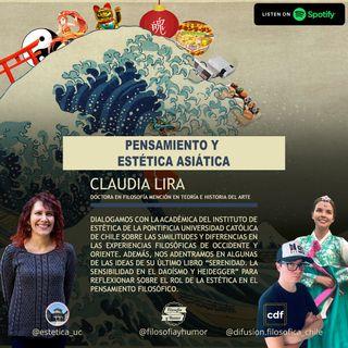 Pensamiento y estética asiática: filosofando con Claudia Lira