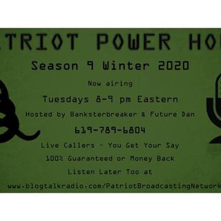 Patriot Power Hour (Episode 78) - Season 9 Premiere