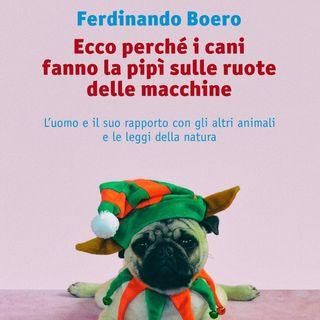 """Ferdinando Boero """"Ecco perché i cani fanno la pipì sulle ruote delle macchine"""""""