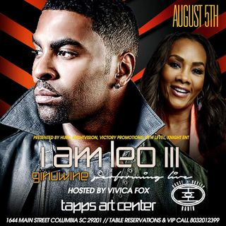 I AM LEO III feat Ginuwine hosted by Vivica Fox