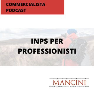 25_INPS per professionisti