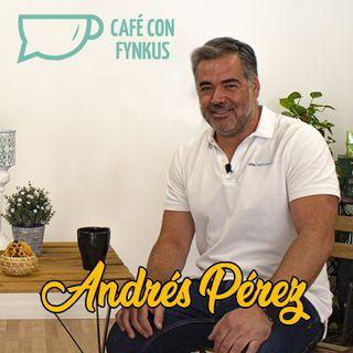 Un café  con Andrés Pérez, administrador de fincas.