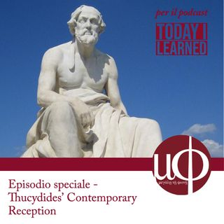 Special episode - Thucydides' Contemporary Reception (instagram live)