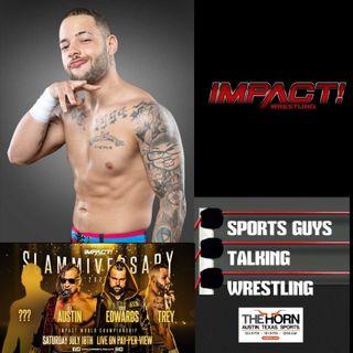 Trey Miguel on his World Championship Shot at Impact Slammiversary - Jul 7 2020
