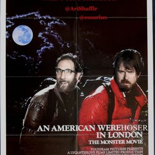 #187: American Werehoser in London (@Escariot)