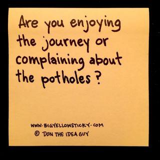 Complaining About Potholes : BYS 281