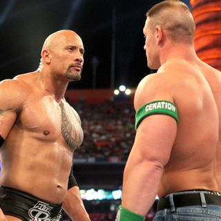 WWE Rivalries: John Cena vs The Rock