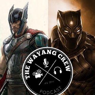 Episode 50 - MCU Recap Part 9 - Thor Ragnarok & Black Panther