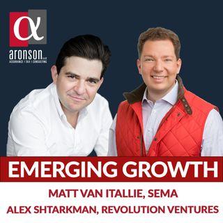 Code & Due Diligence Matt Van Itallie, Sema and Alex Shtarkman of Revolution Ventures