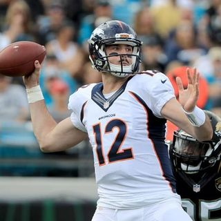 Paxton Lynch Isn't Ready To Lead Broncos