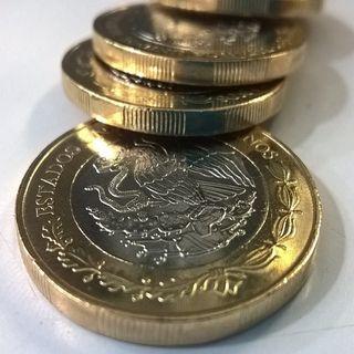 Peso mexicano cae nuevamente