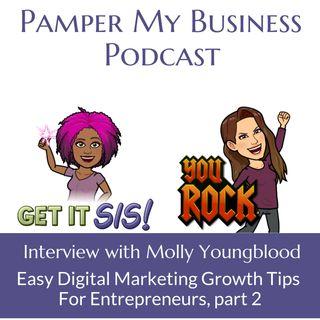 Easy Digital Marketing Growth Tips For Entrepreneurs Part 2