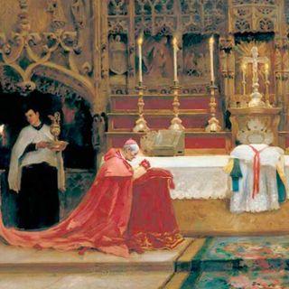 77 - La preghiera sui gradini dell'altare