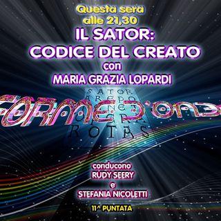 Forme d'Onda - Maria Grazia Lopardi - Il Sator: Codice del Creato - 20-12-2018
