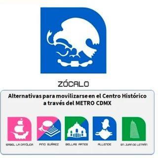 Cierran hoy y mañana martes la estación Zócalo.