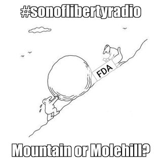 #sonoflibertyradio - Mountain or Molehill