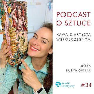 Odcinek 34 / Paintress Collection czyli Wizualna Encyklopedia Malarstwa Kobiet by Roza Puzynowska