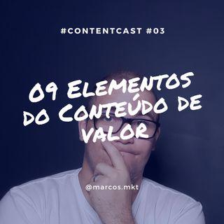 #3 Os 09 Elementos Do Conteúdo De Valor