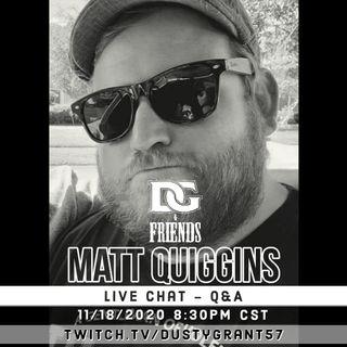 Episode 2 - Matt Quiggins