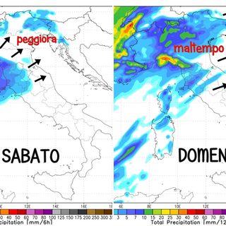 Previsioni meteo 8-10/4, il week end porta perturbazioni con pioggia a chiudere la siccità
