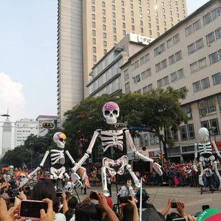 Listo operativo para desfile del  Día de Muertos