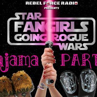 Celebration Anaheim Podcast Stage Pajama Party