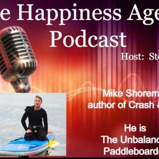 Mike Shoreman the unbalanced paddleboarder