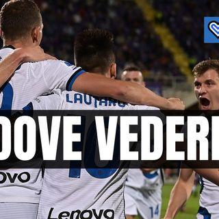 Dove vedere Inter-Atalanta: diretta tv e streaming