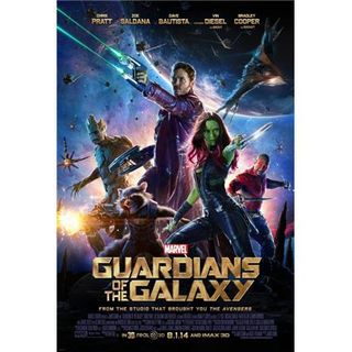 CR #71- Marvel's Guardians of the Galaxy; Get On Up