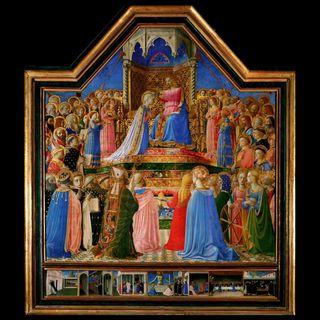 Luwr #3 – Fra Angelico, Koronacja Marii, Salon Carré, sala 708