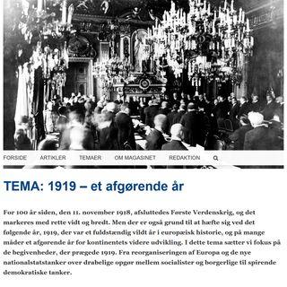 1919 - 01 Freden kom, og nye stater opstod - 09.05