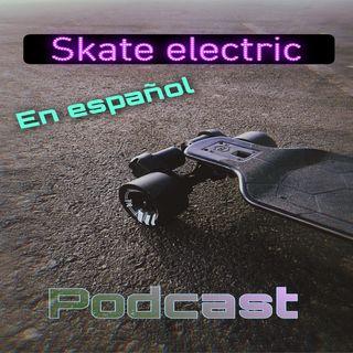 Electric skateboard en español
