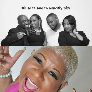 The Beat Break Morning Show feat. Comedian and Actress Luenell - November 2018