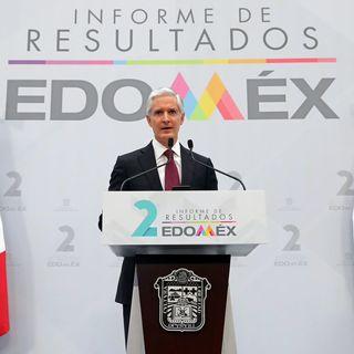 Presenta Alfredo del Mazo segundo informe de gobierno