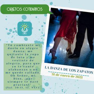 31 de enero - La danza de los zapatos - Etiquetas Para Reflexionar - Devocional de Jóvenes