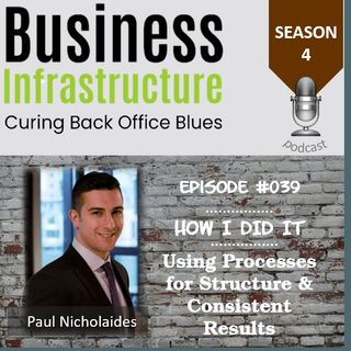Episode 39: Using Processes for Structure & Consistent Results with Paul Nicholaides
