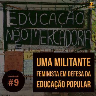 Uma militante feminista em defesa da educação popular